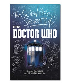 Another great find on #zulily! The Scientific Secrets of Doctor Who Hardcover by Doctor Who #zulilyfinds