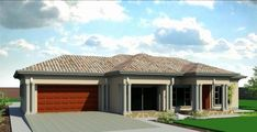 Outstanding My Home Plans Fresh Marvelous Tuscan House Plans In Polokwane Arts House Plans Around Polokwane Image – House Floor Plan Ideas Free House Plans, Family House Plans, House Floor Plans, Tuscan House Plans, Modern House Plans, Double Storey House Plans, House Plans South Africa, Flat Roof House, Facade House