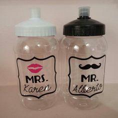 Mr  Mrs termos para boda www.facebook.com/fiestontampico