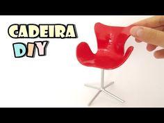 DIY COMO FAZER CADEIRA MODERNA PARA BARBIE E CASA DE BONECAS MUITO FACIL SUPER TOY KIDS - YouTube