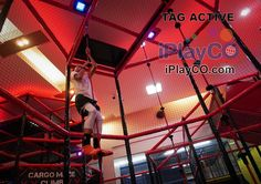 Design, manufacture and install children's play equipment and interactive events for all ages. TAG Active, Cyber Towers and custom designed trampolines. Kids Play Equipment, Park Equipment, Playground Design, Indoor Playground, Test Strategy, Obstacle Courses, Underground Bunker, Modular Walls, Best Commercials
