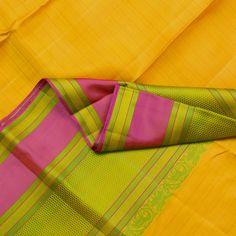Kanakavalli Handwoven Kanjivaram Silk Sari 001067 - Sari / All Saris - Parisera