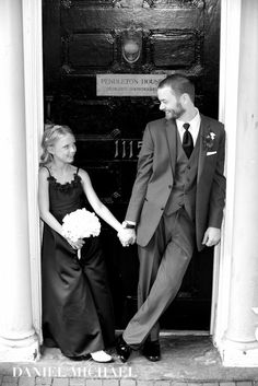 Groom and is Daughter Wedding Day