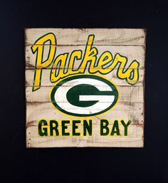 Nfl Green Bay Packers Team Sign Printable Personalized