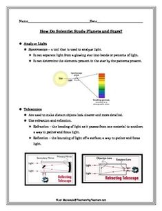 Students will choose a color for each of the cell parts and fill in ...