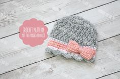 Hey, I found this really awesome Etsy listing at https://www.etsy.com/listing/270886285/crochet-pattern-newborn-girl-hat-pattern
