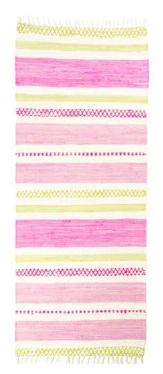 Vallila Interior - Kivinokka pink cotton rug
