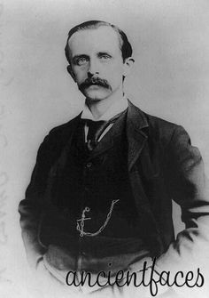Scottish novelist and playwright James M. Barrie, the famous creator of Peter Pan, taken in 1910. Learn more:  http://www.ancientfaces.com/research/photo/419661/james-m-barrie-author-of-peter-pan-family-photo