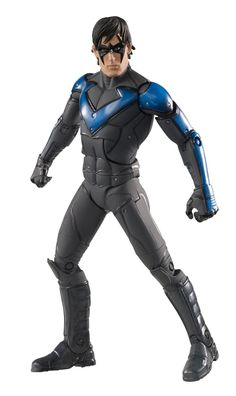 Nightwing Action Figure - All the Arkham City action figures look freakin' awesome! Batman Comic Books, Batman Comics, Comic Book Heroes, Dc Comics, Batman Action Figures, Batman Arkham City, Nightwing, Batman Gifts, Packaging