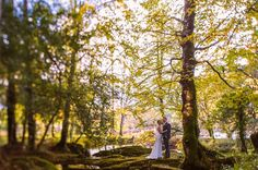 Set within a estate overlooking Kenmare Bay, at the foot of the dramatic Caha Mountain. West Coast, Acre, Woodland, Couple, Weddings, Fall, Plants, Image, Autumn