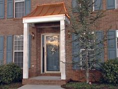 Front door portico kits wooden porch canopy porticos for Front porch kits for sale
