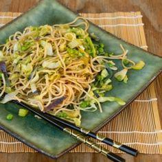 Chow Mein Noodles HealthyAperture.com