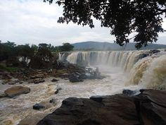 Fourteen falls, Thika, Kenya [also called Thika Falls]