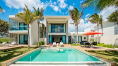 Life's a beach in this over-the-top villa.