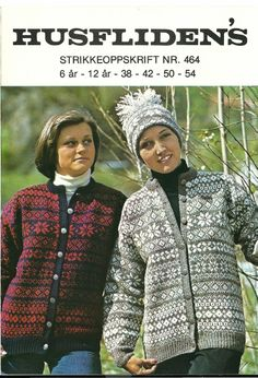 This shows how the same pattern can look in completely different colorways. Etnic Pattern, Norwegian Knitting, Fair Isle Knitting, Clothing Patterns, Knit Crochet, People, Fair Isles, Color, Inspiration