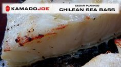 Kamado Joe Chilean Sea Bass https://www.youtube.com/watch?v=FkmKiEpap4Y&feature=em-subs_digest #ArcticSpasUtah