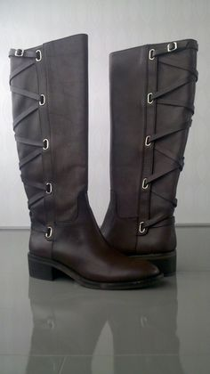 From BCBGeneration - Equestrian Boots with Strap Detail