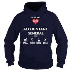 I Love ACCOUNTANT GENERAL JOB TSHIRT GUYS LADIES YOUTH TEE HOODIE SWEAT SHIRT VNECK UNISEX JOBS Shirts