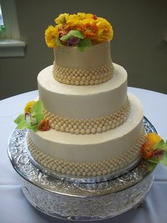 All butter cream Wedding Cake. #weddingcake