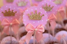 Rapunzel party - loooove these sparkle crowns! I need to make or find these.