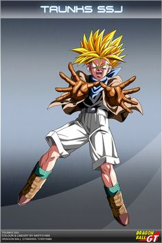 Dragon Ball GT - Trunks SSJ by DBCProject on DeviantArt