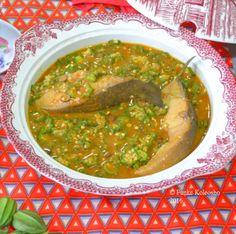 Funke Koleosho's Food Blog: Eja Osan Imoyo & Okro Soup - One Pot