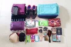Ultralight Packing List: I Traveled for 3 Weeks with a 12L Handbag - Her Packing List