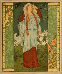 The lady of Shalott (1881)ILlustrated by Howard Pyle