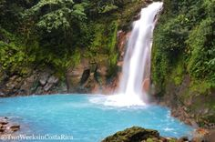 Rio Celeste Waterfall | Two Weeks in Costa Rica