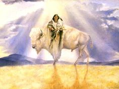 White Buffalo Calf Woman Native American Spirituality, Native American Wisdom, American Gods, American Indian Art, Native American History, American Indians, American Bison, White Buffalo, White Bison