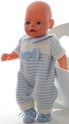 Baby Knitting Patterns Dress Knitting baby born clothes – Knitting a wonderful baby doll set Baby Knitting Patterns, Knitted Doll Patterns, Knitted Dolls, Baby Patterns, Knitting Dolls Clothes, Crochet Doll Clothes, Baby Born Kleidung, Baby Doll Set, Baby Born Clothes