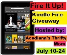 Giveaway Roundup (July 9-15)