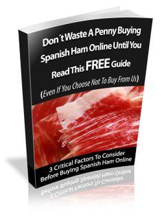 Spanish ham GUIDE jejejej por David Domenech http://www.pinterest.com/jeremiasdelator/deliciousandspanishcom/