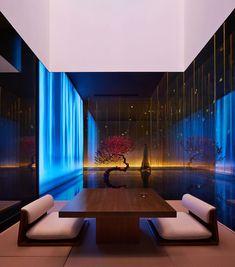 Jiyu SPA by Shanghai Hip-pop Design Team – aasarchitecture Spa Interior Design, Spa Design, Salon Design, Shanghai, Hip Pop, Design Fields, Design Competitions, White Walls, Light In The Dark