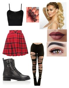 """""""Random Outfit"""" by just-your-average-girl-123 on Polyvore featuring WearAll, WithChic and Gianvito Rossi"""