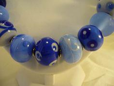 86C Collier Flonche bleu detail | Flickr: partage de photos!