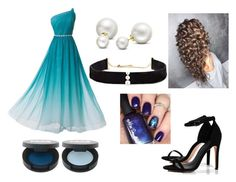"""Aquamarine"" by glamour-guru ❤ liked on Polyvore featuring Anissa Kermiche, Boohoo and Allurez"