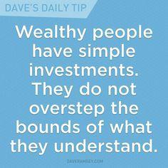 Dave Ramsey - my favorite tip! *