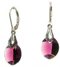 New World Purple Earrings - Crystal Pulse Store
