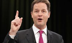 Nick Clegg risks Lib Dem-Tory coalition by spelling out differences Leader's former key adviser reveals new strategy after shock set of polls show Lib Dems trailing Ukip as third biggest party Nick Clegg, Uk Parties, Liberal Democrats, Sayings, Spelling, Third, Key, Cabinet, Party