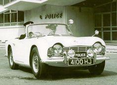 Triumph TR4 Police Car 1962