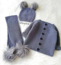 Çok Sipariş Alan 57 Bebek Yelek Hırka Patik Örgü Modelleri Knitted Baby Cardigan, Knitted Hats, Crochet Hats, Area 57, Types Of Hats, Baby Sweaters, Baby Knitting Patterns, Baby Hats, Trends