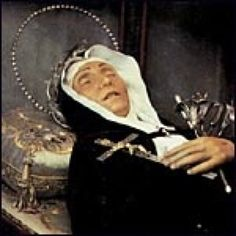 St Veronica Giuliani, stigmatist. She appears to be an incorruptible as well.