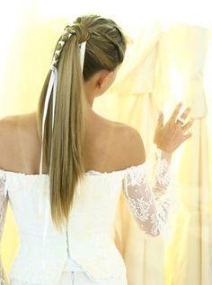 25 ιδέες για χτενίσματα στολισμένα με κορδέλα