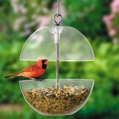 Projetinho Fim de Semana - Comedouro fofo para os passarinhos da minha janela
