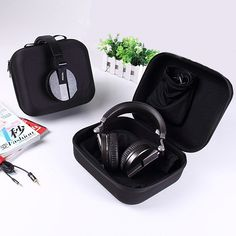 Headphone Case With Inner Pouch and Headphone Dust Bag