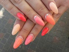 Natalia Nowak, Follow us on Pinterest. Find more inspiration at www.indigo-nails.com #nailart #nails #swarovski #pink