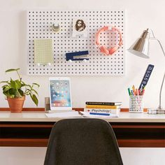 Deal of the Day: $45 Off Metal Peg Board with Hooks
