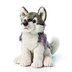 Demdaco Baby Plush Beanbag, Wolf - The DEMDACO baby Plush Animals are designed with great attention to detail. They feature a realistic appearance, a snuggly body, and so much cuteness it's nearly unbearable. Like all the stuffed animals from the DEMDACO Baby line, this heirloom-quality plush toy was made with all new, child safe ...